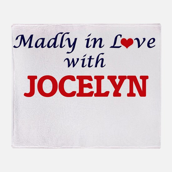 Madly in Love with Jocelyn Throw Blanket
