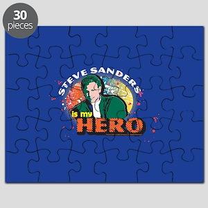 90210 Steve Sanders is my Hero Puzzle