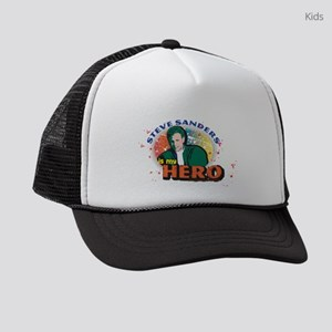 90210 Steve Sanders is my Hero Kids Trucker hat