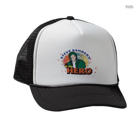 90210 Steve Sanders is my Hero Kids Trucker hat