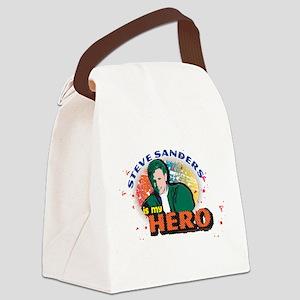 90210 Steve Sanders is my Hero Canvas Lunch Bag