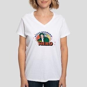 90210 Steve Sanders is my H Women's V-Neck T-Shirt