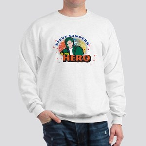 90210 Steve Sanders is my Hero Sweatshirt