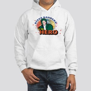 90210 Steve Sanders is my Hero Hooded Sweatshirt