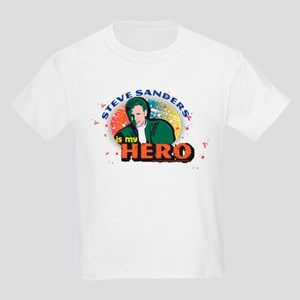 90210 Steve Sanders is my Hero Kids Light T-Shirt