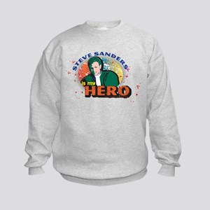 90210 Steve Sanders is my Hero Kids Sweatshirt