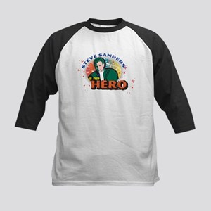 90210 Steve Sanders is my Hero Kids Baseball Tee