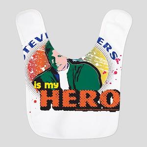 90210 Steve Sanders is my Hero Polyester Baby Bib