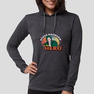 90210 Steve Sanders is my Hero Womens Hooded Shirt