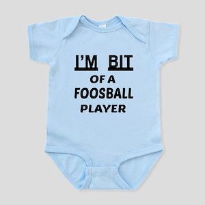 I'm bit of a Foosball player Infant Bodysuit