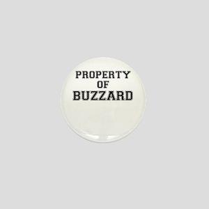 Property of BUZZARD Mini Button
