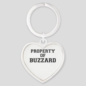 Property of BUZZARD Keychains