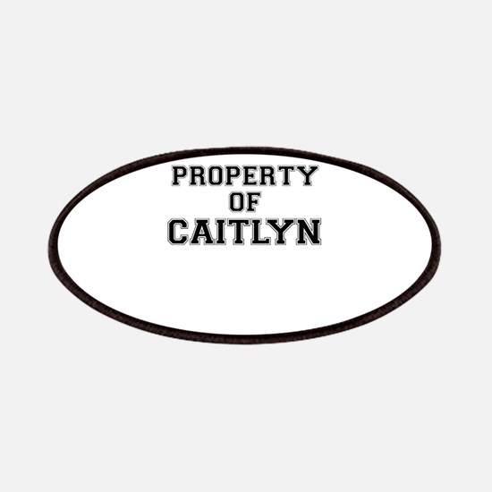 Property of CAITLYN Patch