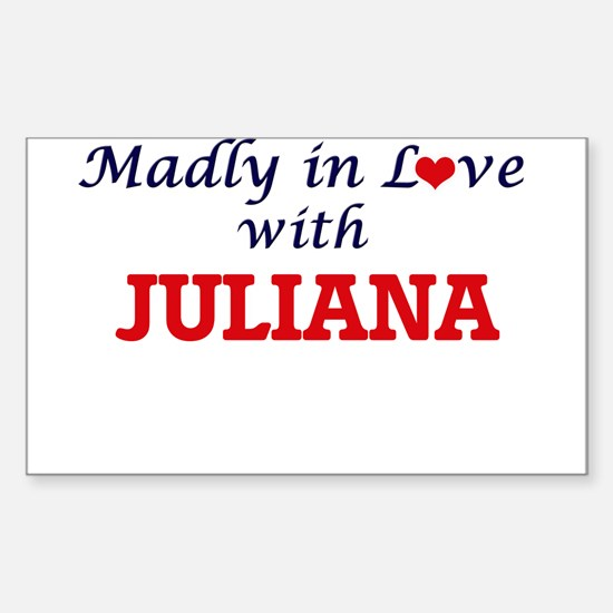 Madly in Love with Juliana Decal