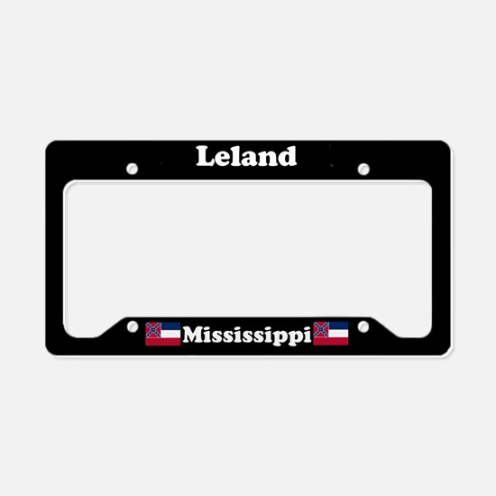 Leland MS License Plate Holder
