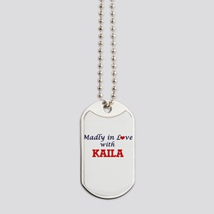 Madly in Love with Kaila Dog Tags