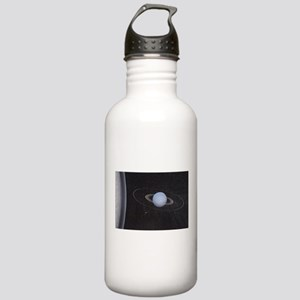 Uranus and it's rings Stainless Water Bottle 1.0L