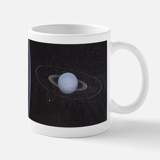 Uranus and it's rings Mugs