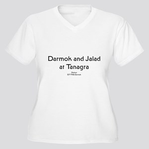 Darmok... Women's Plus Size V-Neck T-Shirt