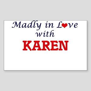 Madly in Love with Karen Sticker