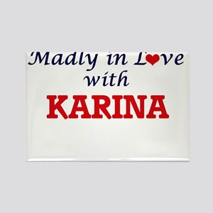 Madly in Love with Karina Magnets
