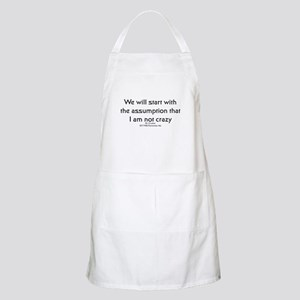 We will start with the assump BBQ Apron