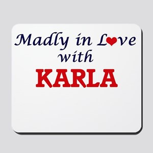 Madly in Love with Karla Mousepad