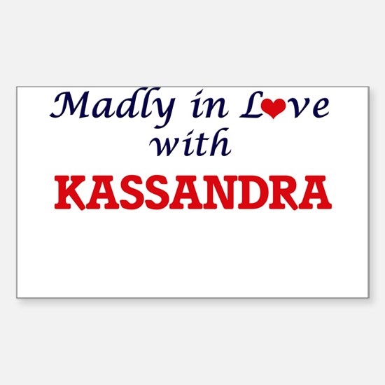 Madly in Love with Kassandra Decal