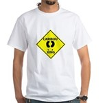 Caribou Crossing White T-Shirt