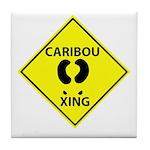 Caribou Crossing Tile Coaster