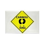 Caribou Crossing Rectangle Magnet (10 pack)