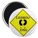 Caribou Crossing Magnet