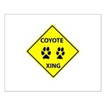 Coyote Crossing Small Poster
