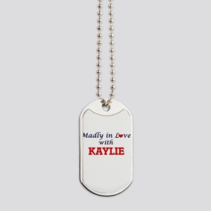 Madly in Love with Kaylie Dog Tags