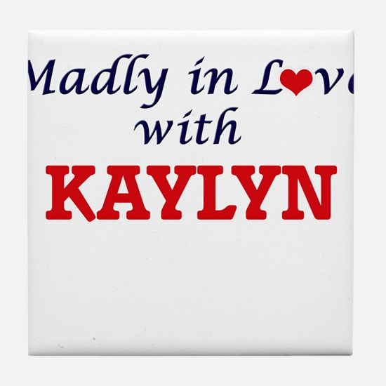 Madly in Love with Kaylyn Tile Coaster