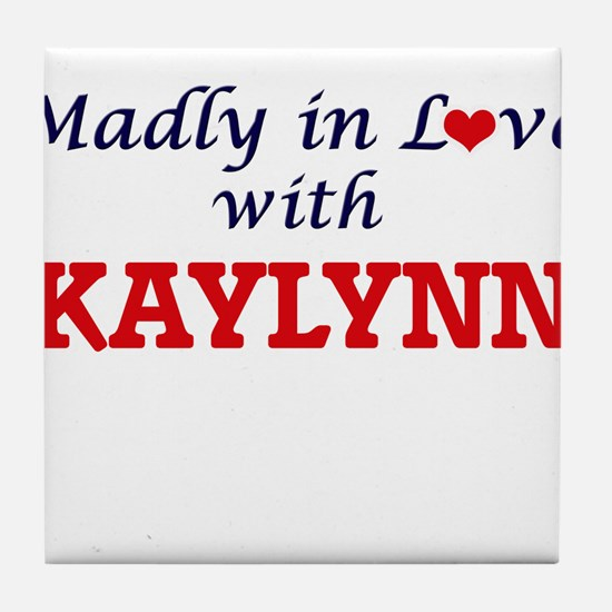 Madly in Love with Kaylynn Tile Coaster
