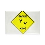 Eagle Crossing Rectangle Magnet (100 pack)