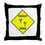 Eagle Crossing Throw Pillow