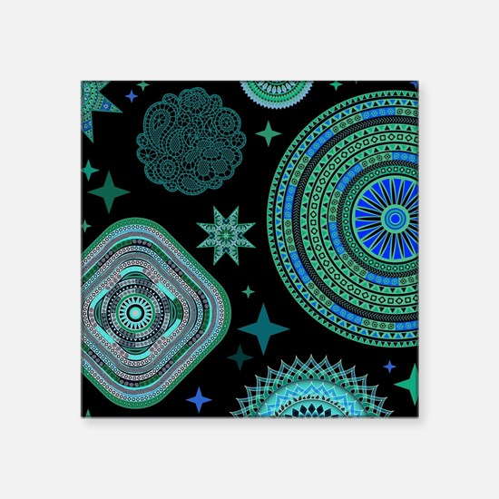 MANDALAS AND STARS Sticker