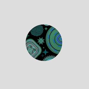 MANDALAS AND STARS Mini Button