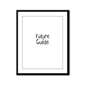 Future Guide Framed Panel Print