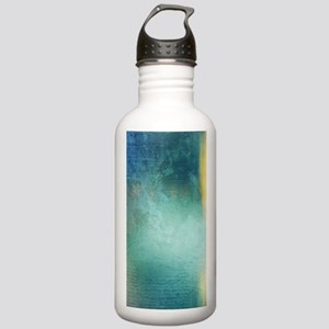 Decorative Blue Writin Stainless Water Bottle 1.0L