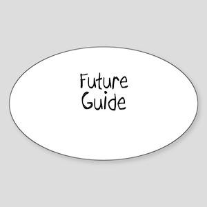 Future Guide Oval Sticker