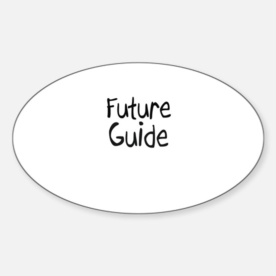 Future Guide Oval Decal