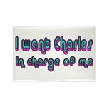 Charles in Charge Rectangle Magnet (10 pack)