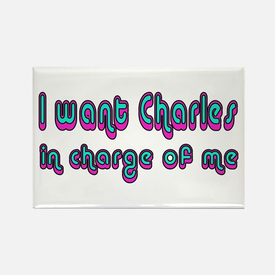 Charles in Charge Rectangle Magnet