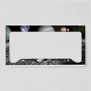 New Solar License Plate Holder