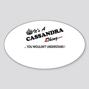 CASSANDRA thing, you wouldn't understand Sticker