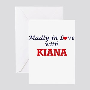 Madly in Love with Kiana Greeting Cards