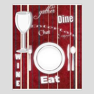 Home Entertaining Fun Dinning Art Posters